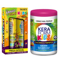 Pack mantenimiento Skafe Kids Vegano 3 productos