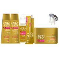Treatment pack Keramax Argan and Keratin 6 products