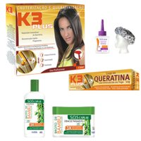 Pack tratamiento K3 Plus 6 productos