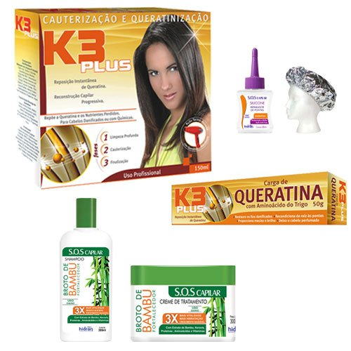 Treatment pack K3 Plus 6 products