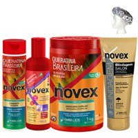 Treatment pack Novex Max Keratin 5 products