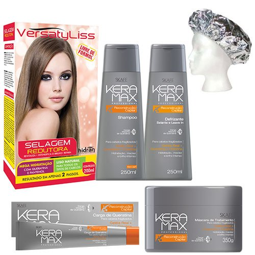 Treatment pack Versatyliss Keratin 6 products