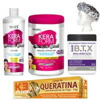 Treatment pack BTX Matizer for blonde hair 5 products