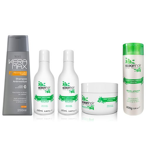Pack Ocean Hair Smoothing Shine 5 productos