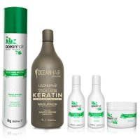 Treatment pack Ocean Hair Smoothing Shine 20 products