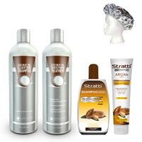 Treatment pack Amazon Keratin Coconut Oil Straightening 5 products