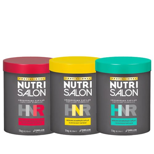 Treatment pack NutriSalon Chronograph HNR 3 products