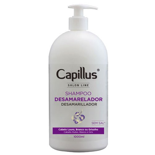 Professional Shampoo Capillus Anti-Yellow Salon Line 1L