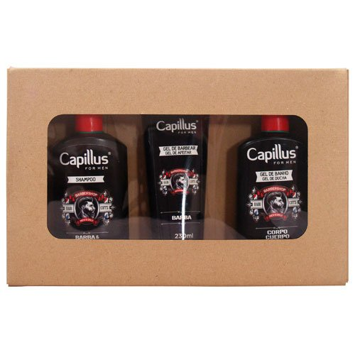 Kit Capillus for Men Hair and Beard 3 Products