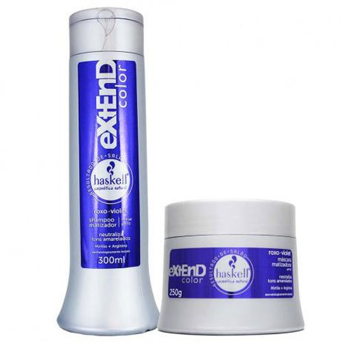 Kit Matizador Haskell Extend Color 2x300ml