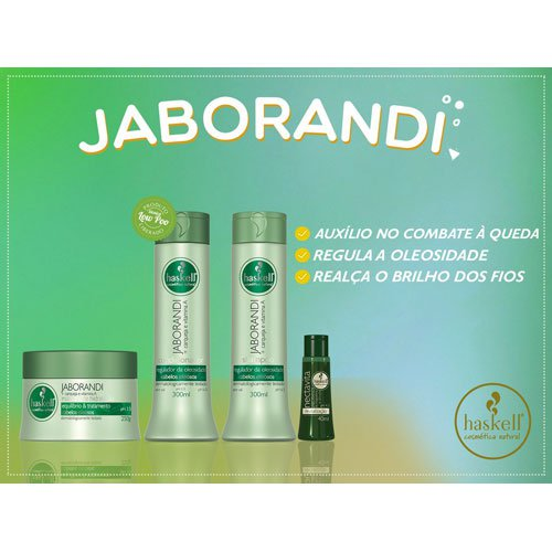 Treatment pack Haskell Jaborandi oily hair 5 products