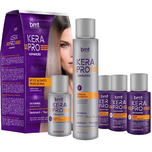 Progressive straightening kit Kerapro with keratin 220ml