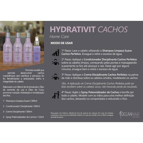 Spray Ocean Hair Hydrativit Perfect Curls 120ml