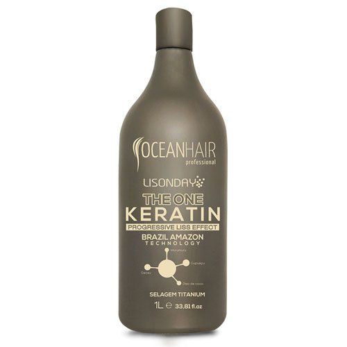 Straightening Ocean Hair Lisonday The One Keratin 1L