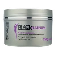 Matting Mask Ocean Hair Black Platinum 250g