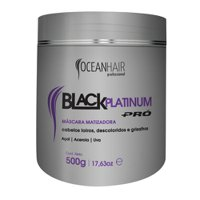 Matting Mask Ocean Hair Black Platinum Pro 500g