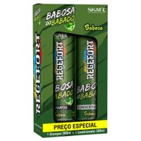 Kit Skafe Regefort Babosa of Babado Aloe Vera 2x300ml