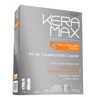 Keratin treatment kit Keramax Brazilian Keratin Reconstruction 161g