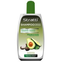 Shampoo Stratti Avocado repair & vitality with keratin salt-free 400ml