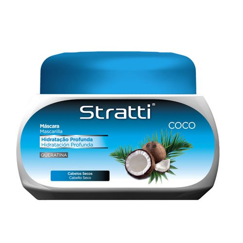 Mask Stratti Coconut hair hydration with keratin 550g