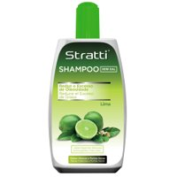 Shampoo Stratti Lime freshness & balance with keratin salt-free 400ml